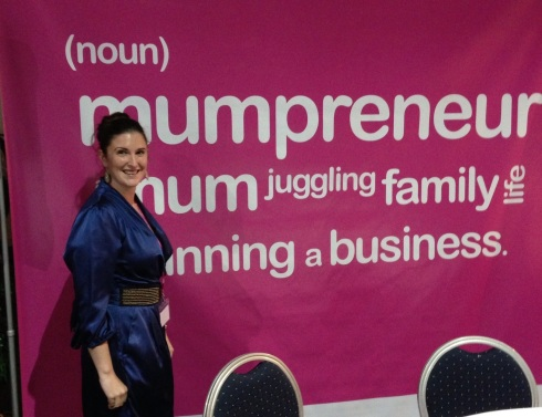 ToyBoxLive MD at Mumpreneur Awards 2012